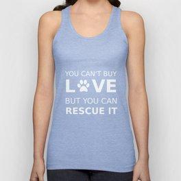 Animal rescue love Unisex Tank Top