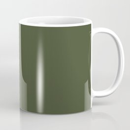 Cedar Creek ~ Moss Green Coffee Mug