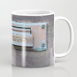 Letter Slot Coffee Mug