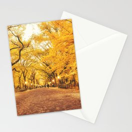 New York City Autumn Stationery Cards