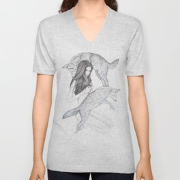 Moon Dance Unisex V-Neck
