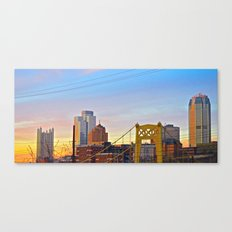 Sunset from the Southside Canvas Print