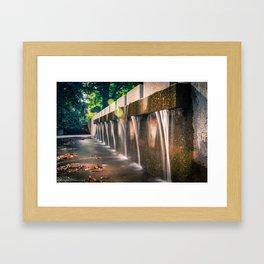 Small Waterfall Framed Art Print