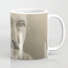 Vintage Robert Louis Stevenson Photo Portrait Coffee Mug