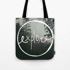 Explore Oregon Forest Tote Bag