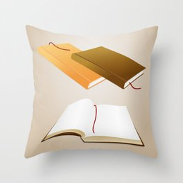 Book collection Throw Pillow