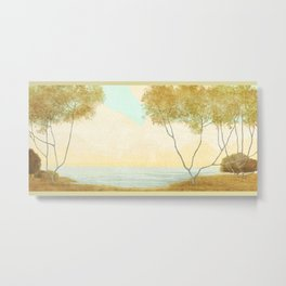 Quiet Morning On The Lake Metal Print