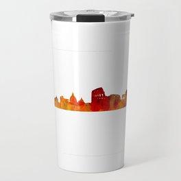 Rome city skyline HQ v01 Travel Mug