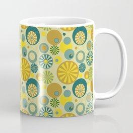 Circle Frenzy - Yellow Coffee Mug