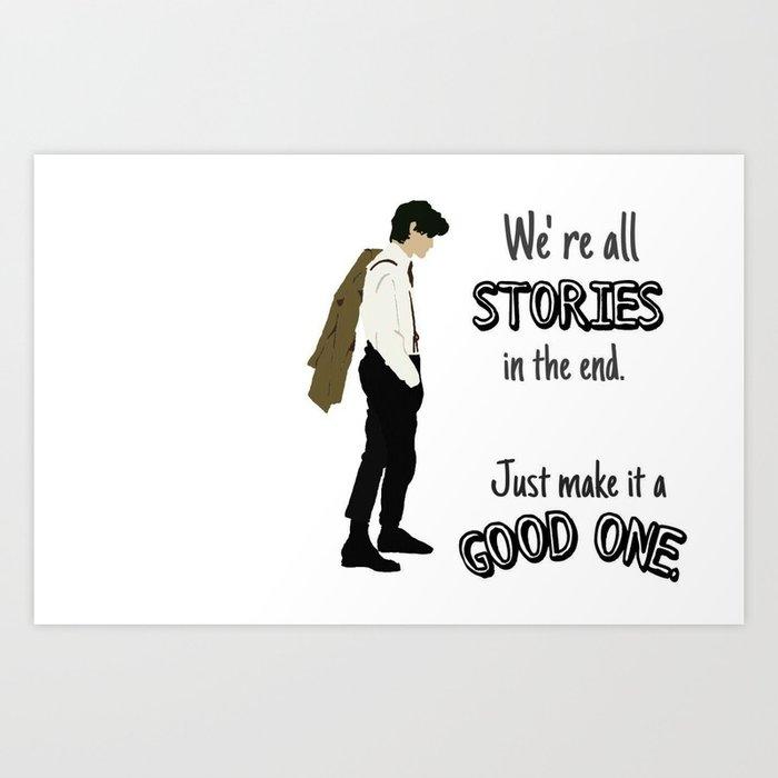 Doctor- Stories Art Print