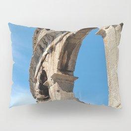 pula croatia ancient arena amphitheatre high Pillow Sham