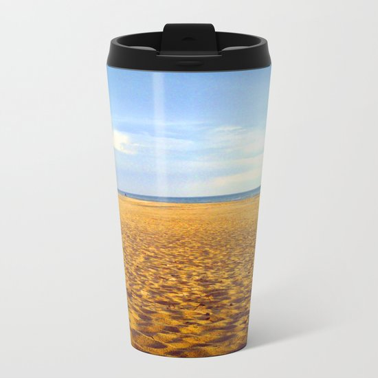 Sand Dunes 2 Metal Travel Mug