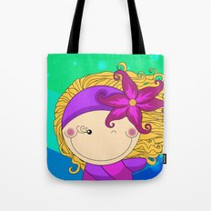 Unique, creative and very colorful, original,digital children illustration Tote Bag