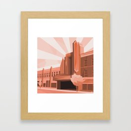 The Warner Framed Art Print