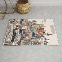 Lost in town. Rug