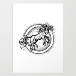 Sleipner Art Print