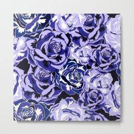 Beautiful Violet Roses Metal Print