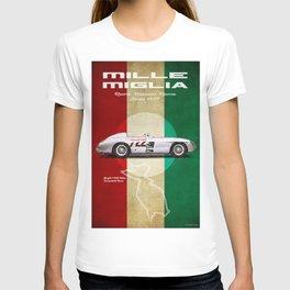 Mille Miglia Racetrack Vintage T-shirt