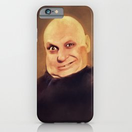 Jackie Coogan as Uncle Fester iPhone Case