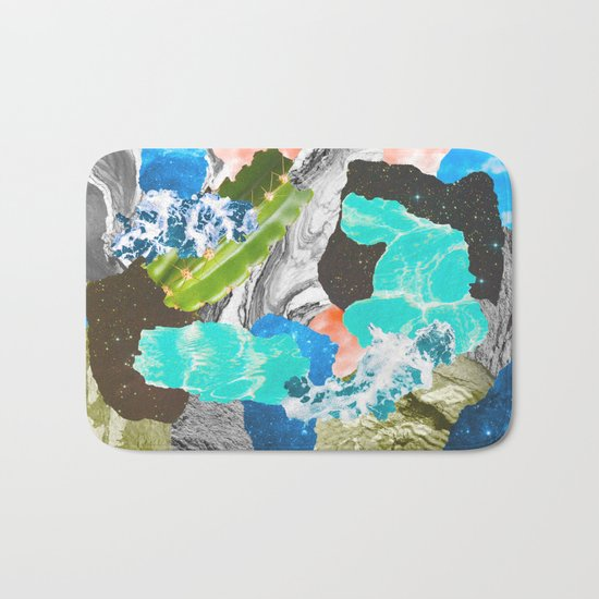 Layers of the Earth Bath Mat