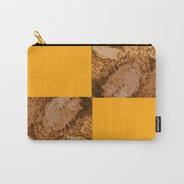 Season of the Square - Symmetry in Gold Carry-All Pouch