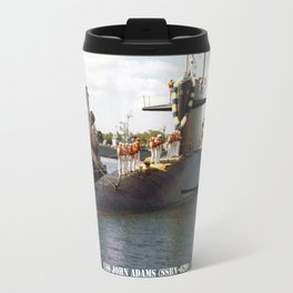 USS JOHN ADAMS (SSBN-620) Travel Mug