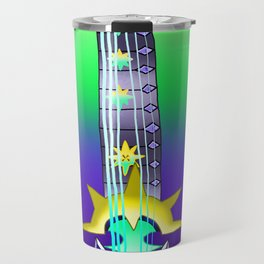 Fusion Keyblade Guitar #118 - Aubade & Saix's Claymore Travel Mug