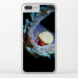 Colours of Night Clear iPhone Case