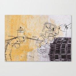 overflow #5 Canvas Print