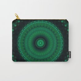 Mandala in greens Carry-All Pouch