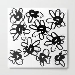 Bold Flowers Metal Print