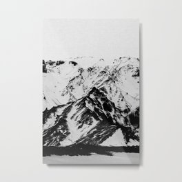 Minimalist Mountains Metal Print