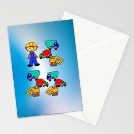 Kleiner Bauarbeiter Stationery Cards