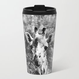 African Giraffe - Through The Woods And Through The Trees Travel Mug