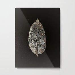old leaf Metal Print