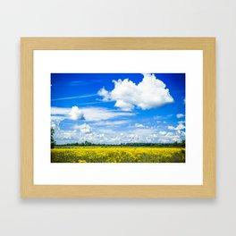 Michigan Bliss Framed Art Print