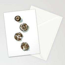 Squished Chocolate Mints Stationery Cards