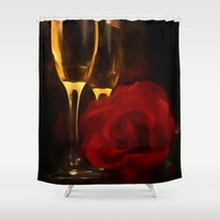 romance Shower Curtains featuring Romance by ThePhotoGuyDarren