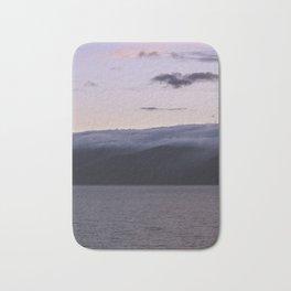 Sunset over Lake Baikal. Bath Mat
