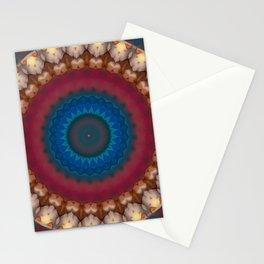 New Color Pyramidal Mandala 73 Stationery Cards