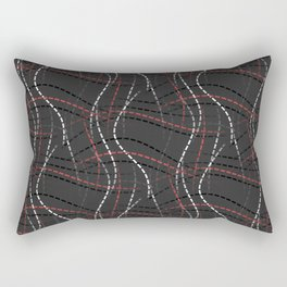 In Stitches Rectangular Pillow
