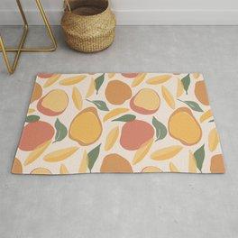 Modern Abstract Mango Pattern Rug