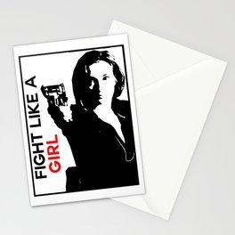 Fight Like A Girl (Nicole) Stationery Cards