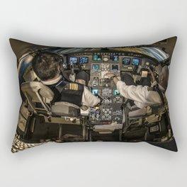 Speed of light Rectangular Pillow