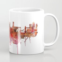 London Skyline watercolor Coffee Mug
