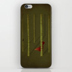 Little Red Ridding Hood iPhone Skin