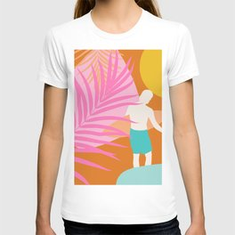 Noon Surfer Abstract Minimalism #2 #minimal #decor #art #society6 T-shirt