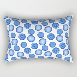 Blueberry dream Rectangular Pillow