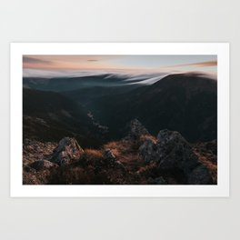 Evening Mood - Landscape and Nature Photography Art Print