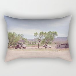 Truck and Helicopters Rectangular Pillow